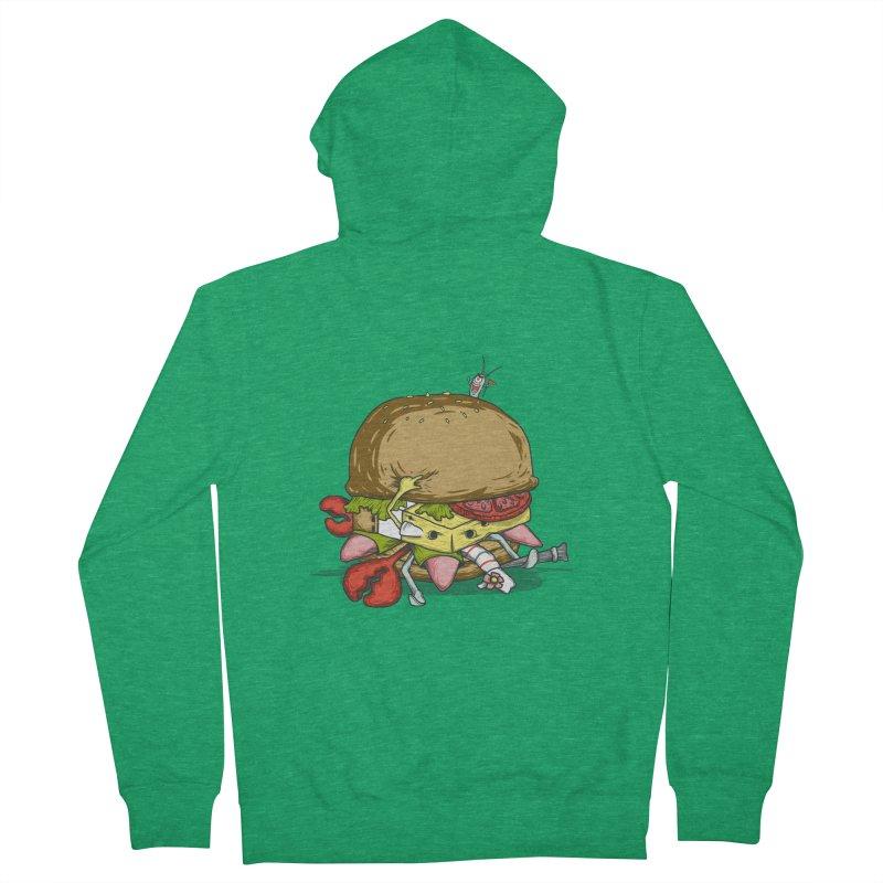 Chump Burger Women's Zip-Up Hoody by groch's Artist Shop