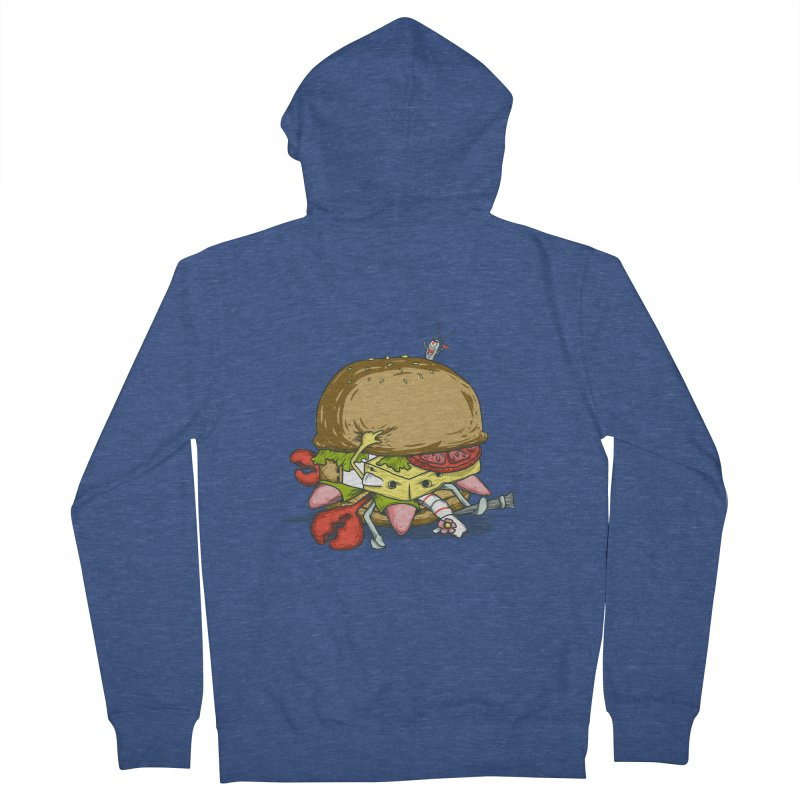 Chump Burger Women's Zip-Up Hoody by groch's Artist Shop