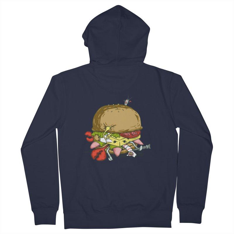 Chump Burger Men's Zip-Up Hoody by groch's Artist Shop