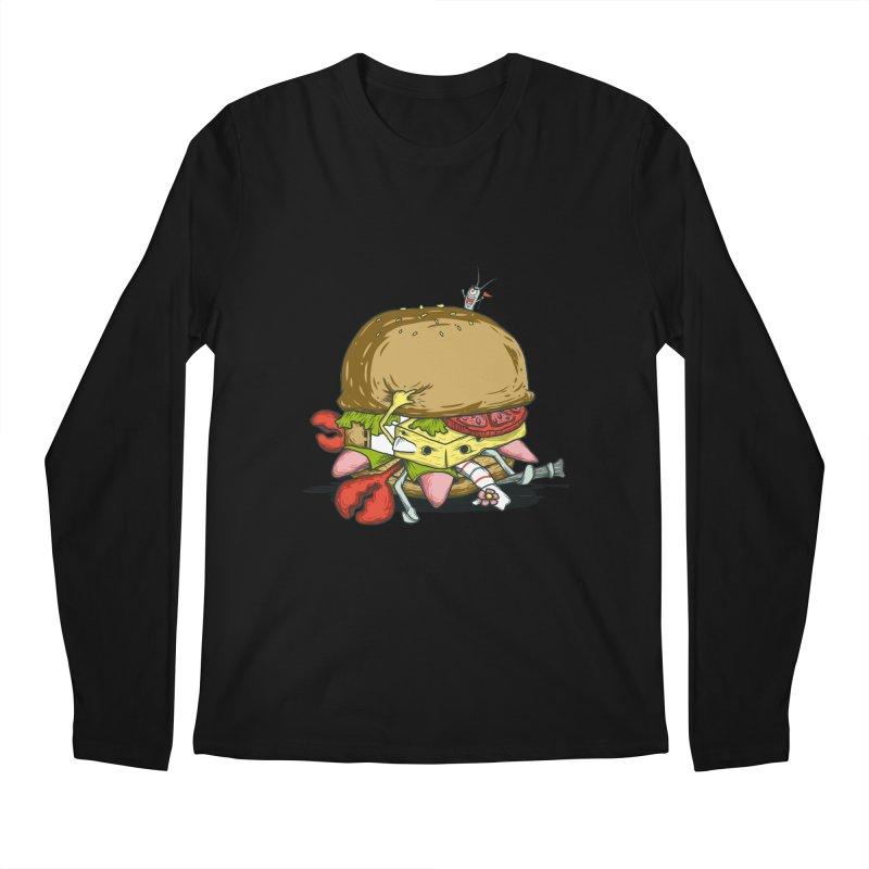 Chump Burger Men's Longsleeve T-Shirt by groch's Artist Shop