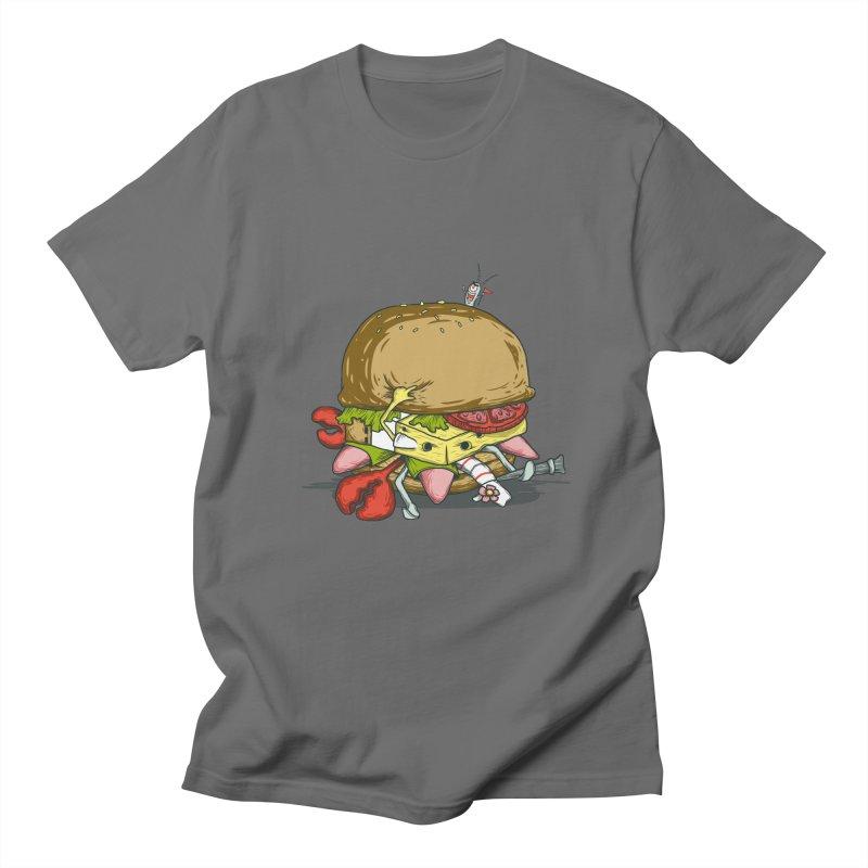 Chump Burger Men's T-shirt by groch's Artist Shop