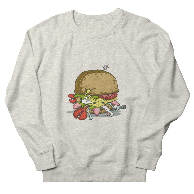 Chump Burger Women's Sweatshirt by groch's Artist Shop