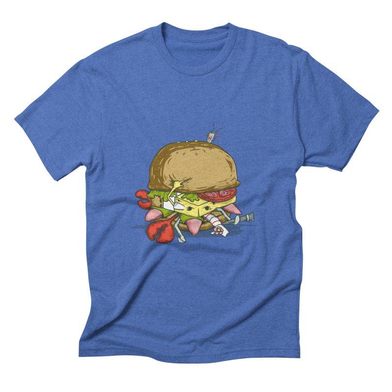 Chump Burger Men's Triblend T-Shirt by groch's Artist Shop