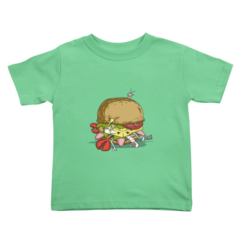 Chump Burger Kids Toddler T-Shirt by groch's Artist Shop