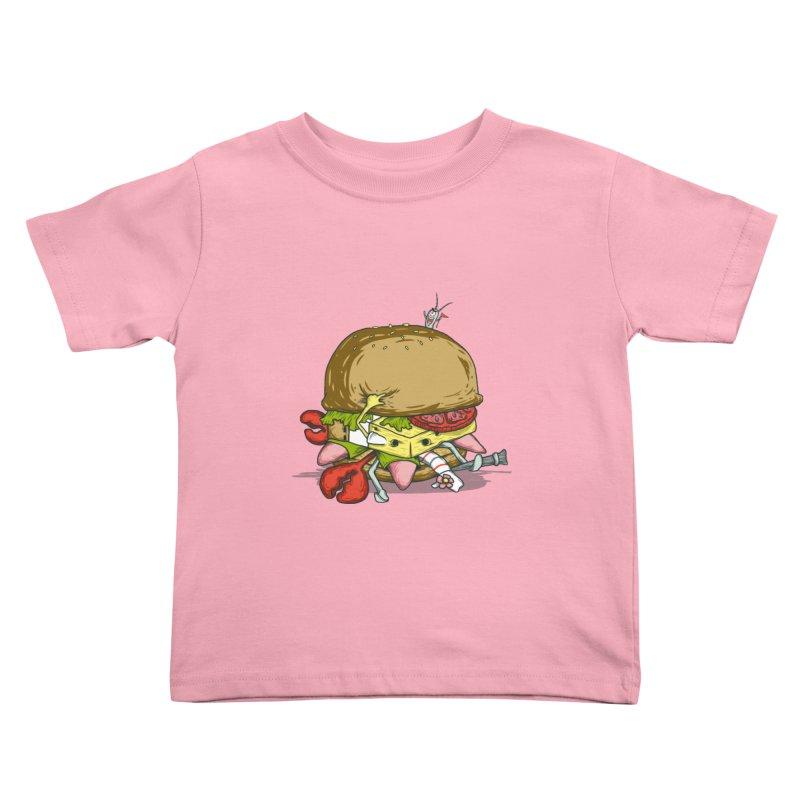 Chump Burger Kids Toddler T-Shirt by groch's Artist Shop