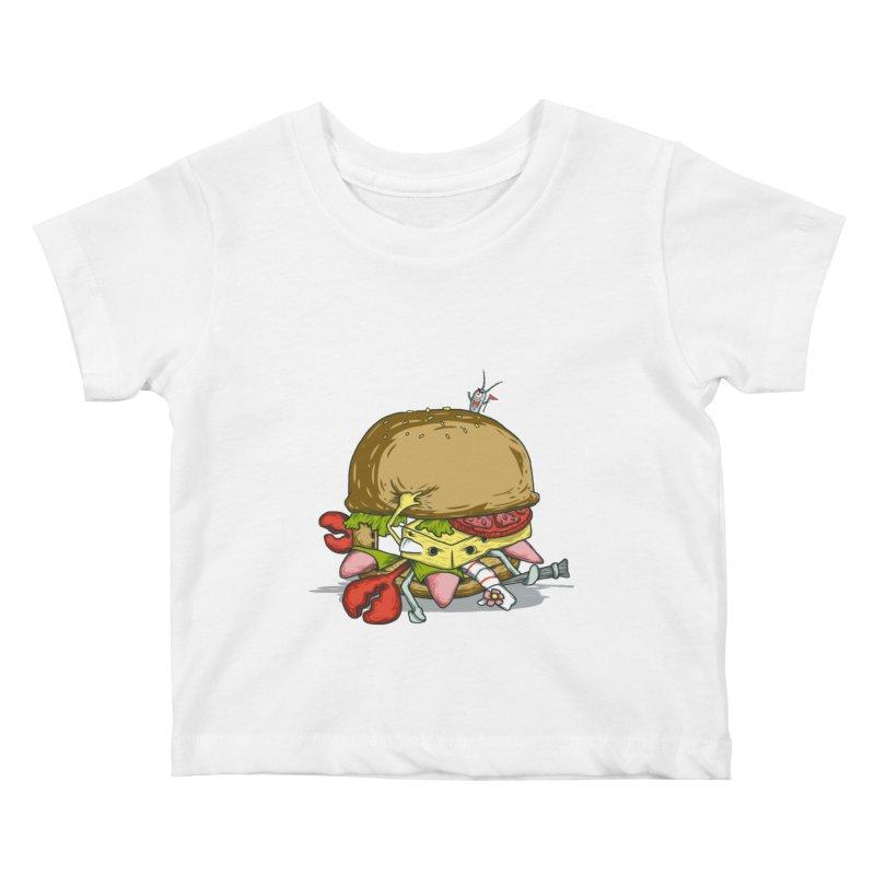Chump Burger Kids Baby T-Shirt by groch's Artist Shop