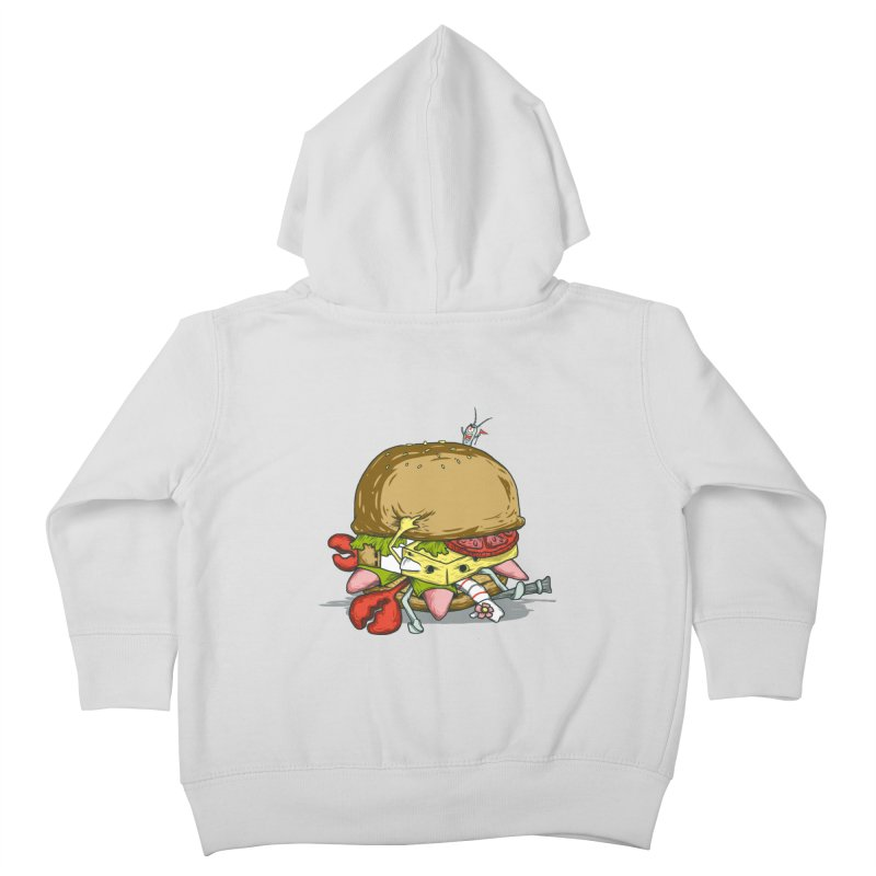 Chump Burger Kids Toddler Zip-Up Hoody by groch's Artist Shop