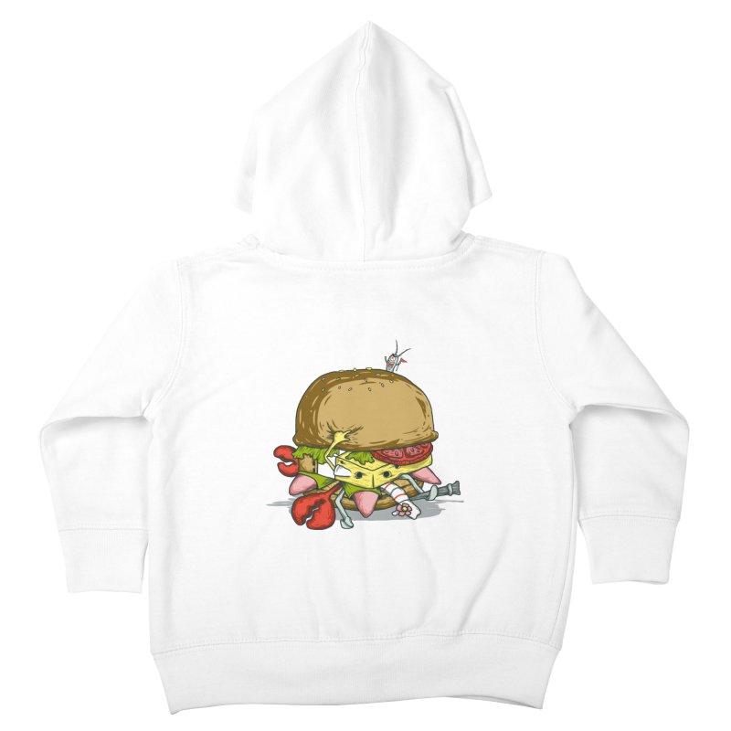Chump Burger Kids Toddler Zip-Up Hoody by groch's Artist Shop