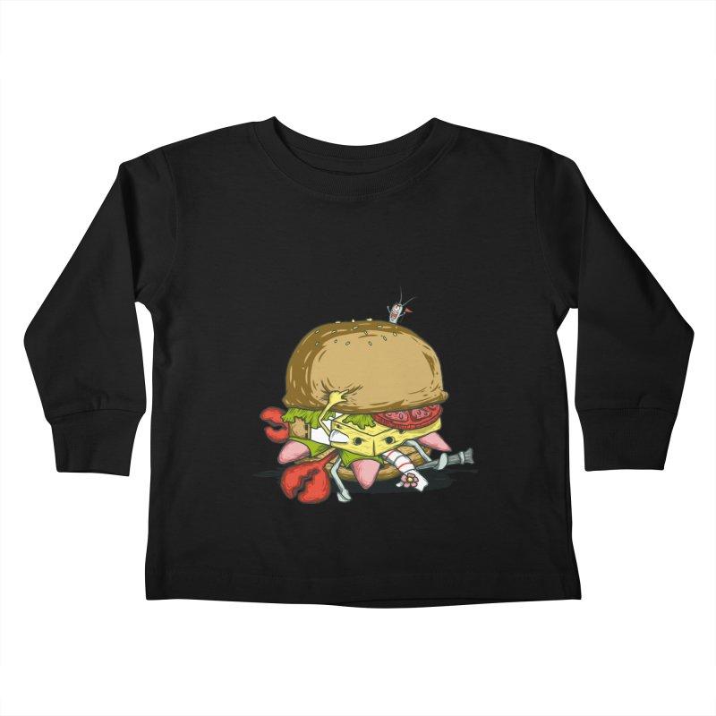 Chump Burger Kids Toddler Longsleeve T-Shirt by groch's Artist Shop