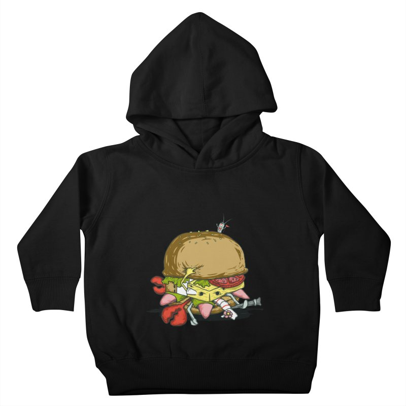 Chump Burger Kids Toddler Pullover Hoody by groch's Artist Shop
