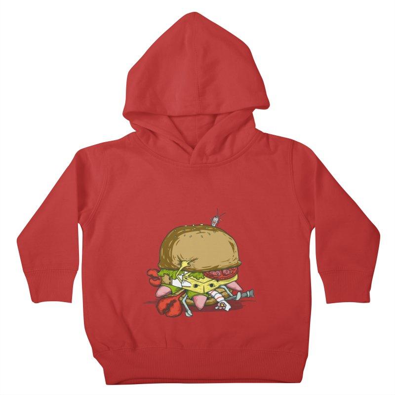 Chump Burger Kids Toddler Pullover Hoody by groch's Artist Shop