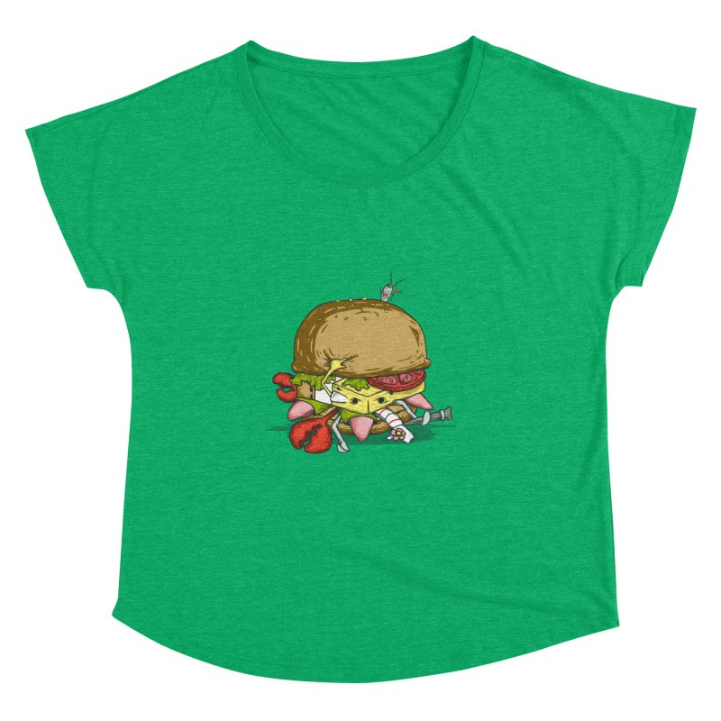 Chump Burger Women's Dolman by groch's Artist Shop
