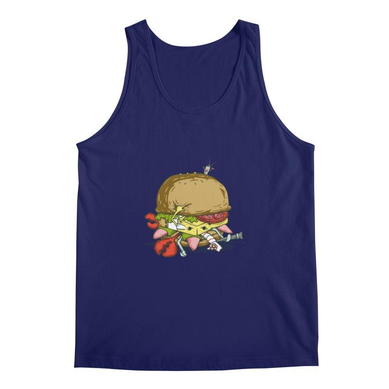 Chump Burger Men's Tank by groch's Artist Shop