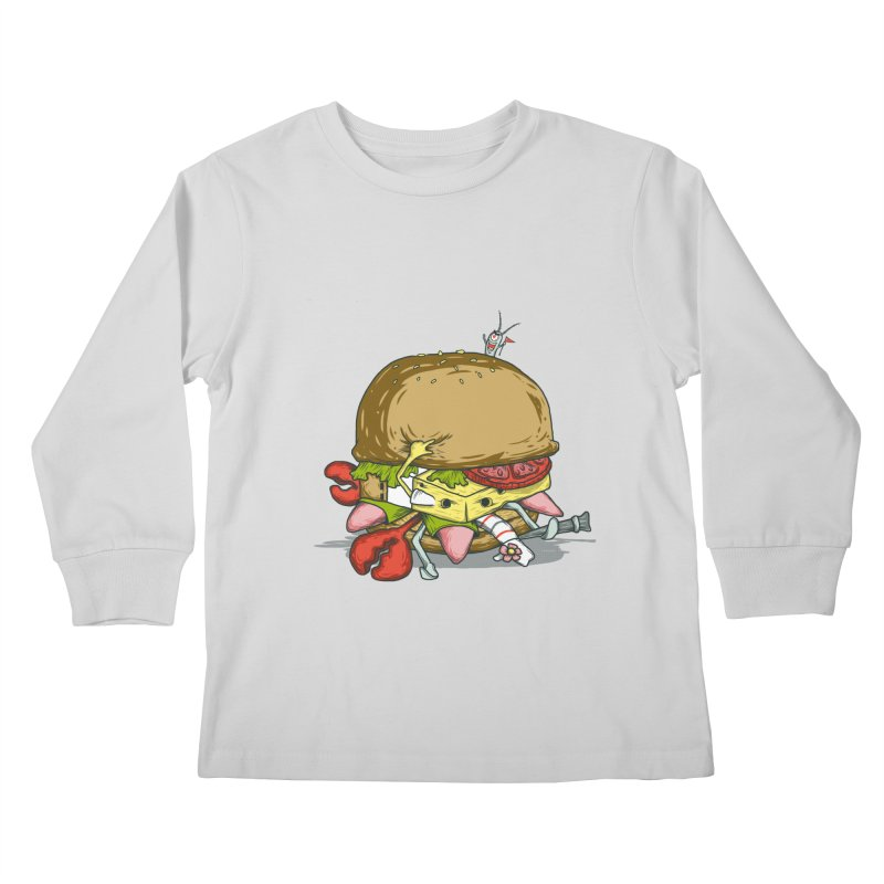 Chump Burger Kids Longsleeve T-Shirt by groch's Artist Shop