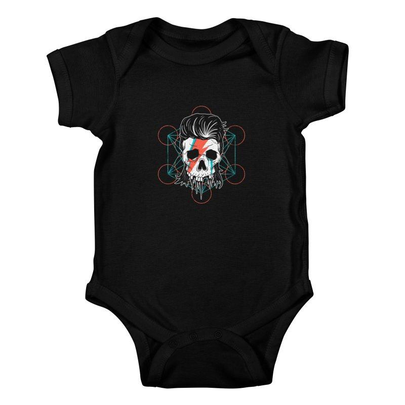 Strange Divine Kids Baby Bodysuit by groch's Artist Shop