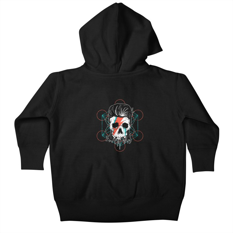 Strange Divine Kids Baby Zip-Up Hoody by groch's Artist Shop