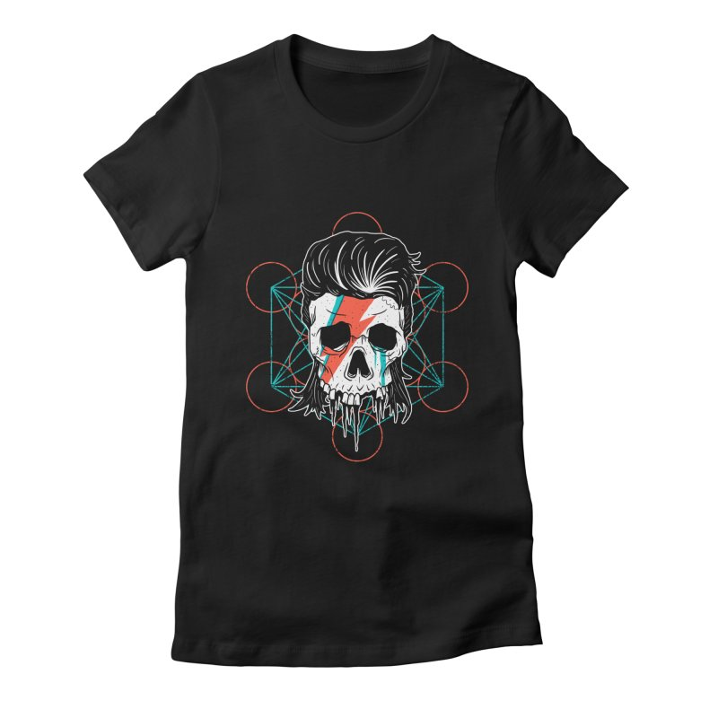 Strange Divine Women's Fitted T-Shirt by groch's Artist Shop