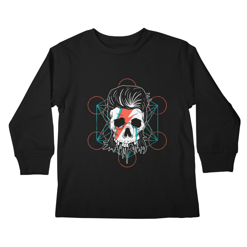 Strange Divine Kids Longsleeve T-Shirt by groch's Artist Shop