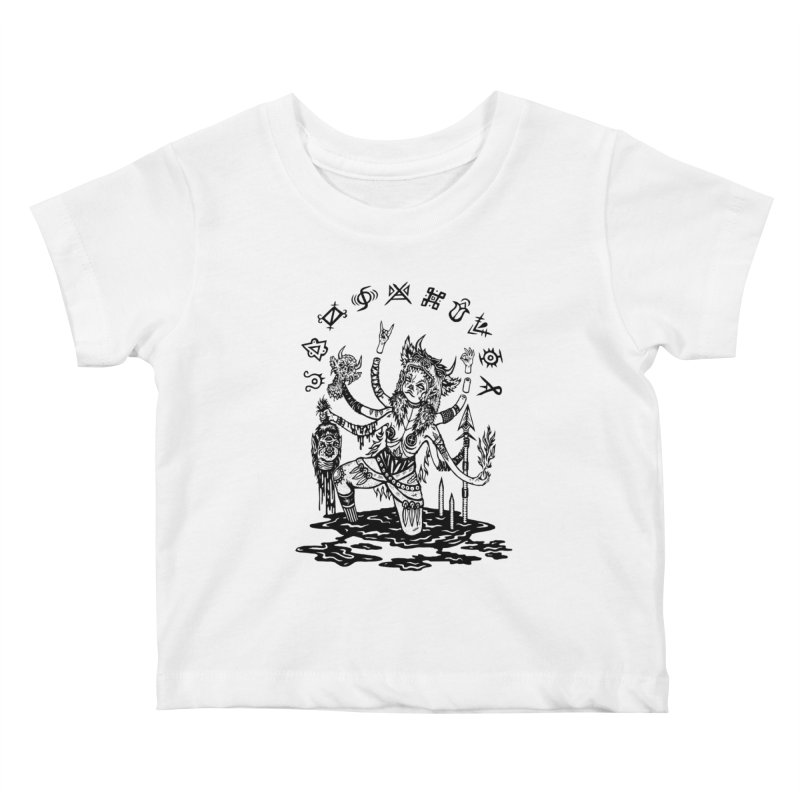 Calling the Scarlet Lady Kids Baby T-Shirt by grooseling's Shop