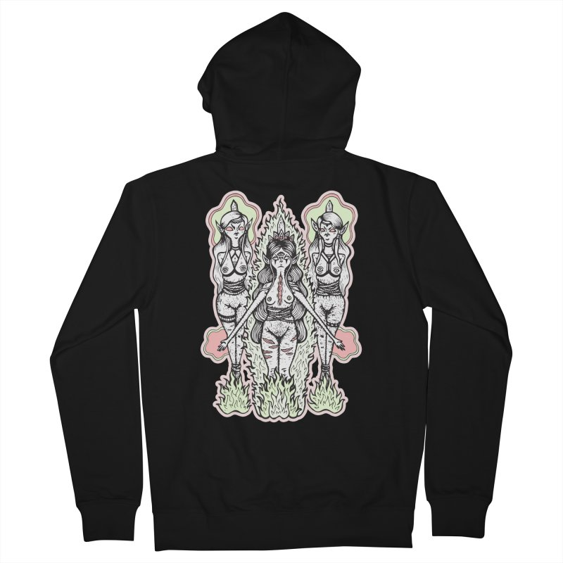 Babes are Burning Men's French Terry Zip-Up Hoody by grooseling's Shop