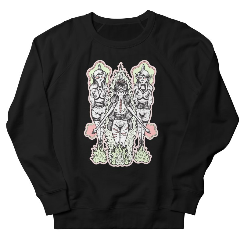 Babes are Burning Women's French Terry Sweatshirt by grooseling's Shop