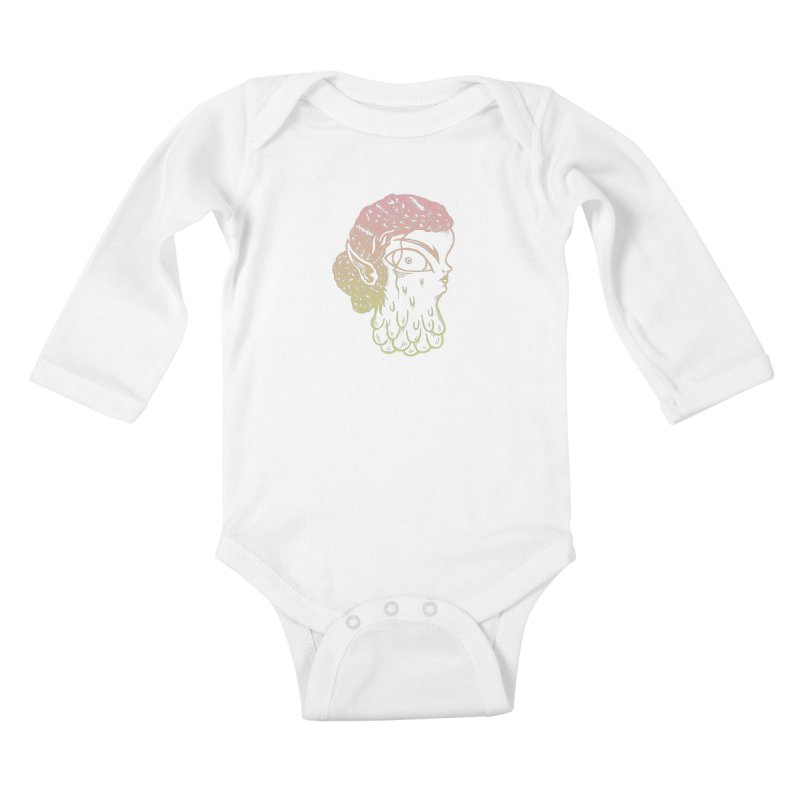 Darling Girl Kids Baby Longsleeve Bodysuit by grooseling's Shop