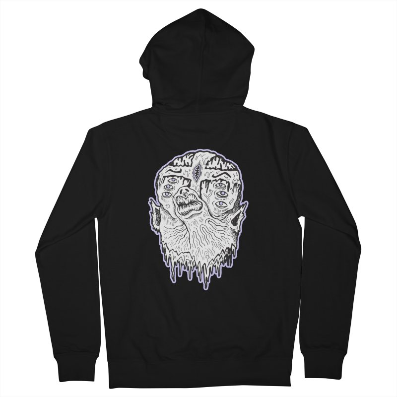 Fibble Men's French Terry Zip-Up Hoody by grooseling's Shop