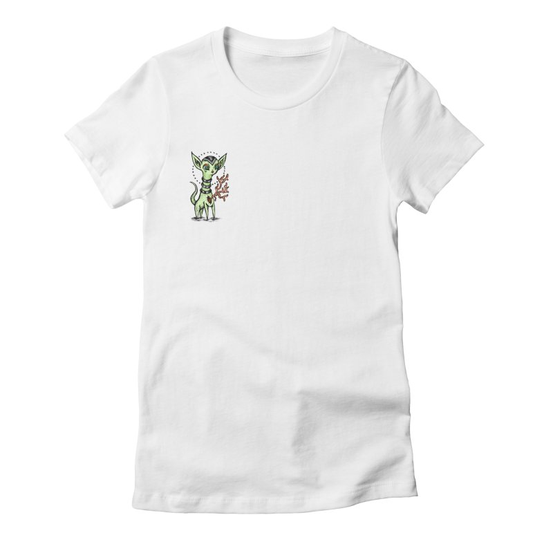 Heart Helper Women's Fitted T-Shirt by grooseling's Shop