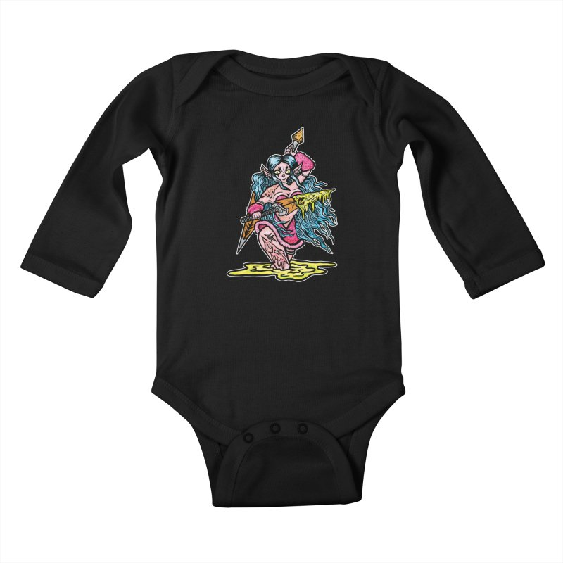 Let Me Be Your Fantasy Kids Baby Longsleeve Bodysuit by grooseling's Shop