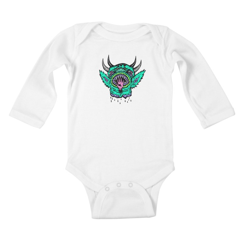 Salutations Kids Baby Longsleeve Bodysuit by grooseling's Shop