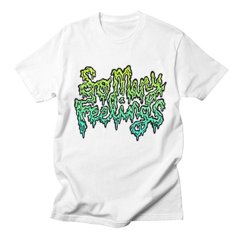 So Many Feelings Men's T-Shirt by grooseling's Shop