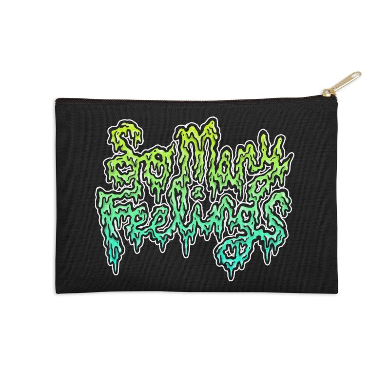 So Many Feelings Accessories Zip Pouch by grooseling's Shop