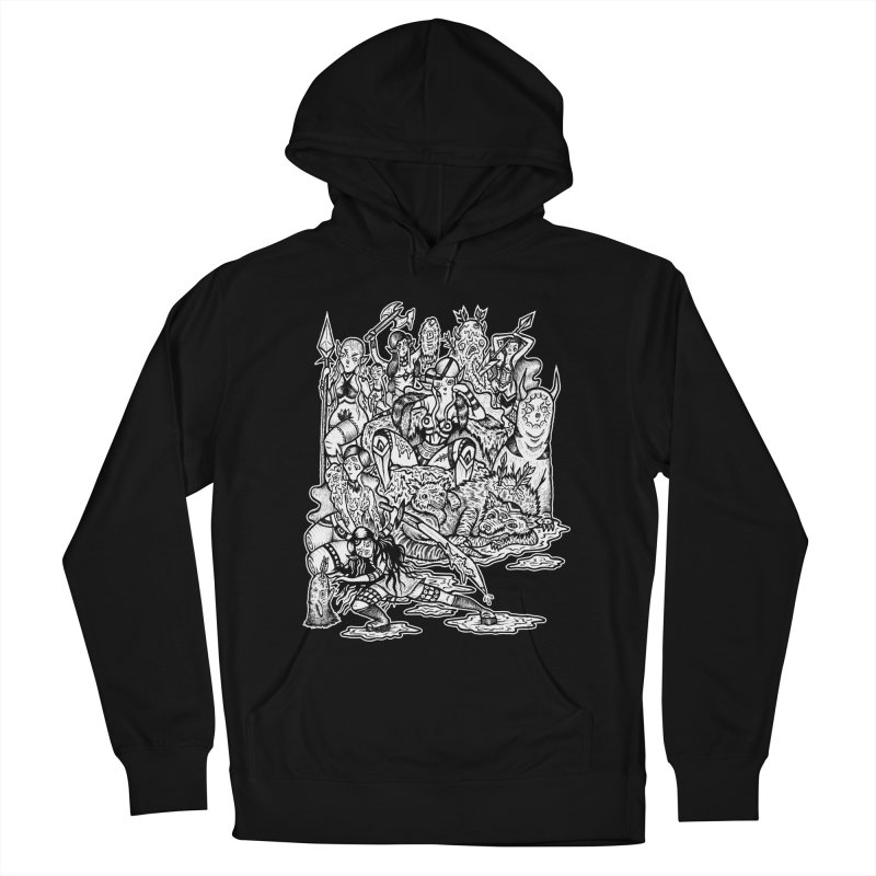 Throne Room Women's French Terry Pullover Hoody by grooseling's Shop