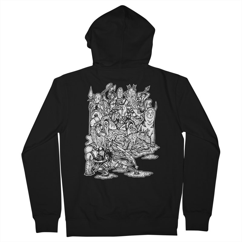 Throne Room Men's French Terry Zip-Up Hoody by grooseling's Shop