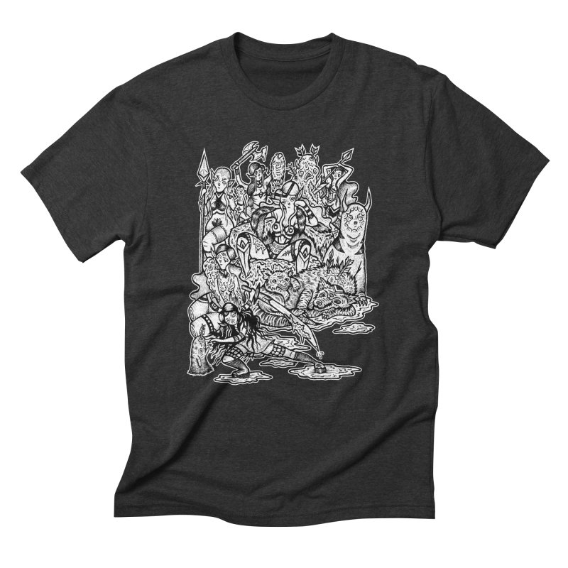 Throne Room Men's Triblend T-Shirt by grooseling's Shop