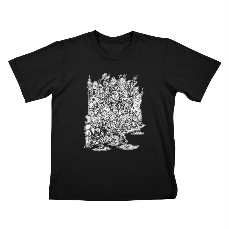 Throne Room Kids T-Shirt by grooseling's Shop
