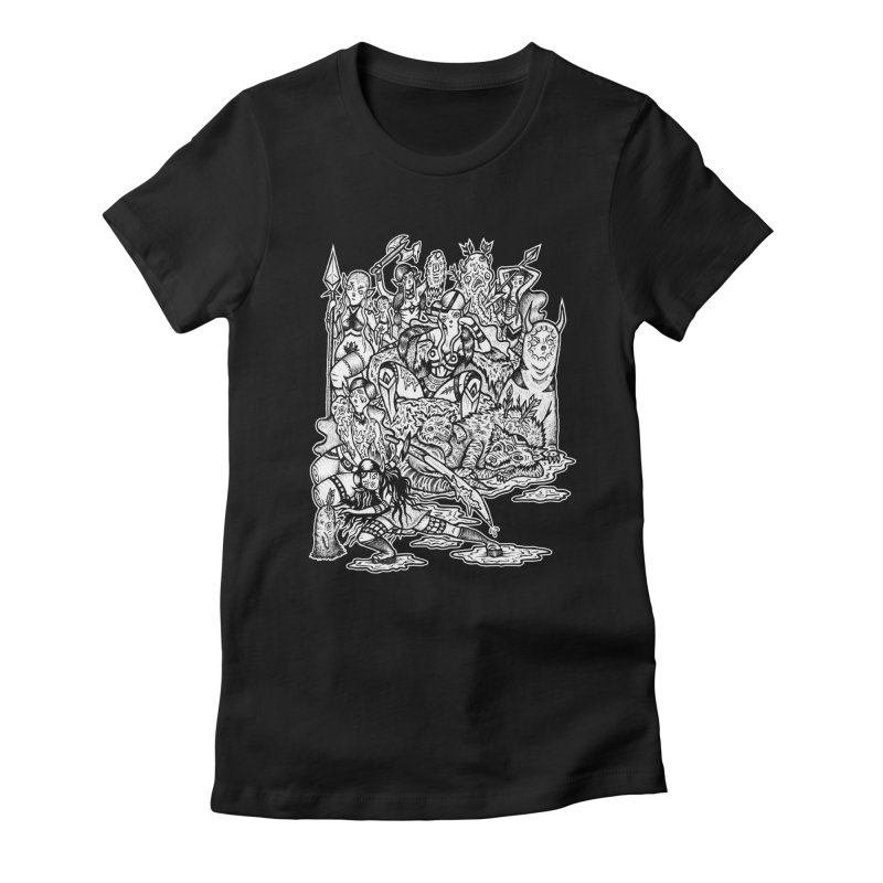 Throne Room Women's Fitted T-Shirt by grooseling's Shop