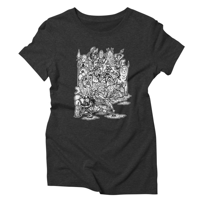 Throne Room Women's Triblend T-Shirt by grooseling's Shop