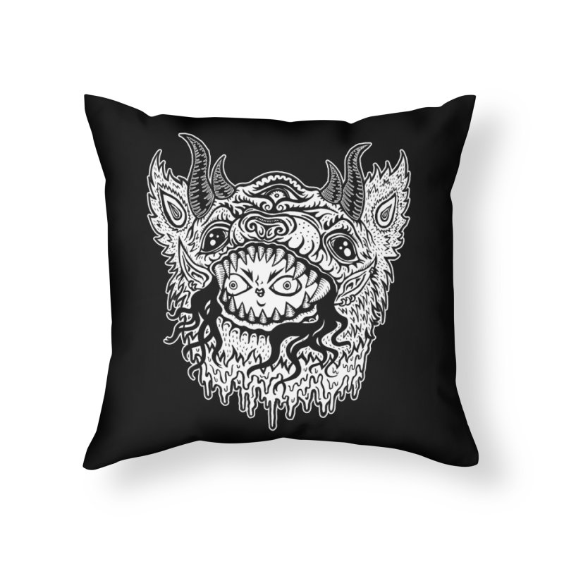 Inside Ya Home Throw Pillow by grooseling's Shop