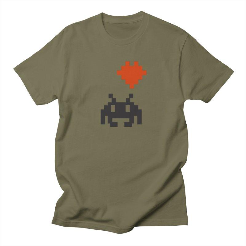 Geeky Love Men's T-Shirt by Groovyspecs's Artist Shop