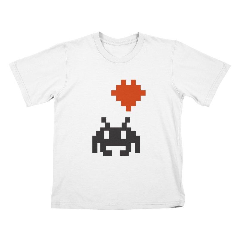 Geeky Love Kids T-Shirt by Groovyspecs's Artist Shop