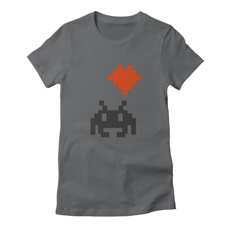 Geeky Love Women's Fitted T-Shirt by Groovyspecs's Artist Shop