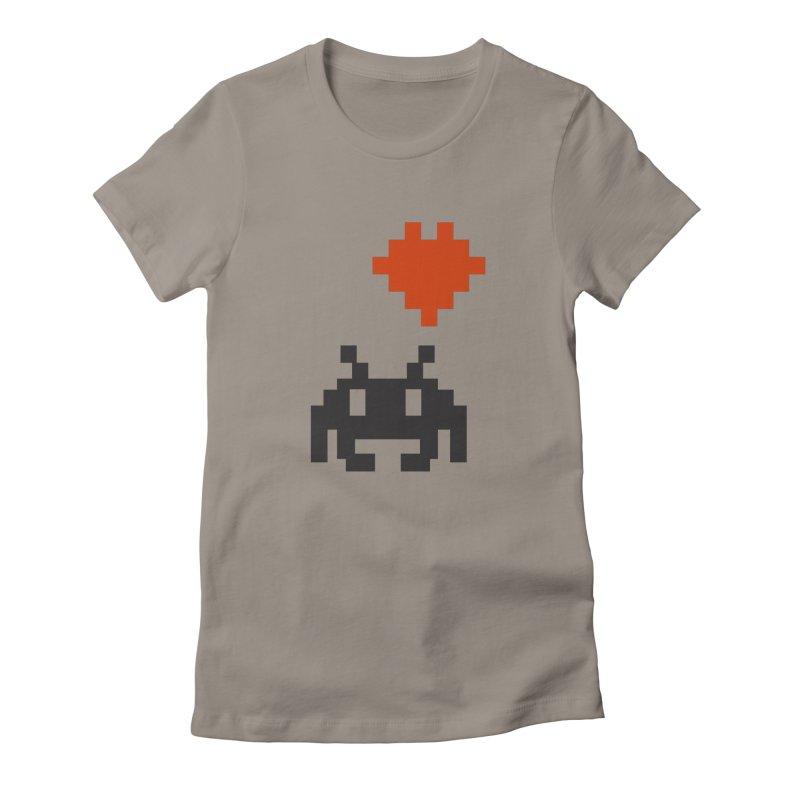 Geeky Love Women's Fitted T-Shirt by Groovyspecs's Artist Shop