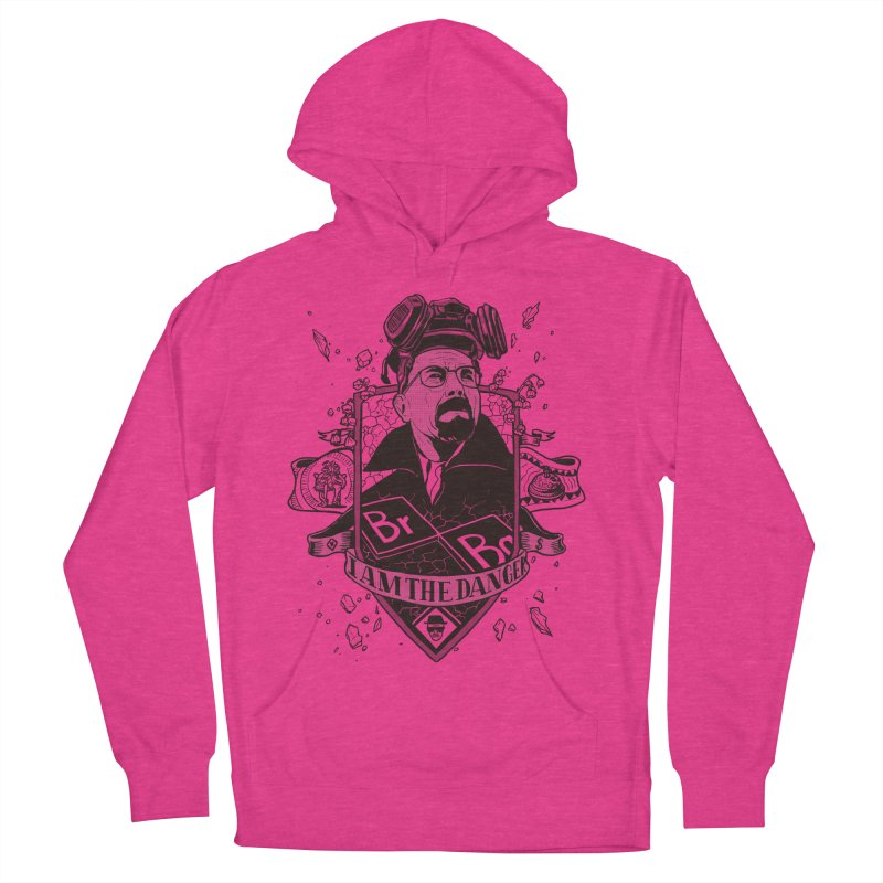 I am the Danger Women's Pullover Hoody by Stefan Grosse Halbuer