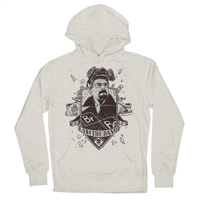 I am the Danger Men's Pullover Hoody by Stefan Grosse Halbuer