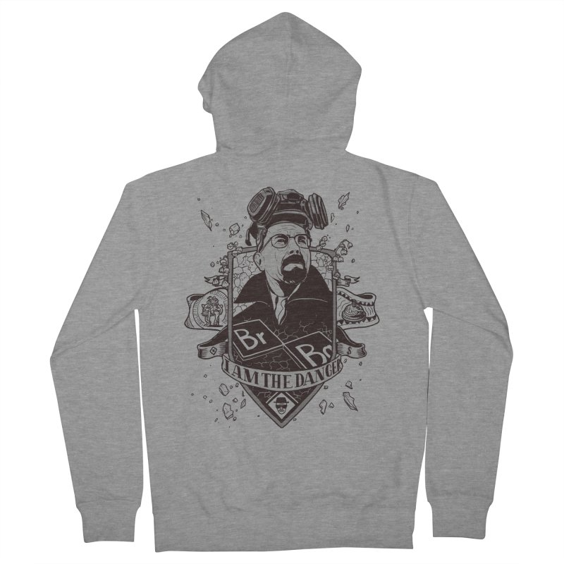 I am the Danger Women's Zip-Up Hoody by Stefan Grosse Halbuer
