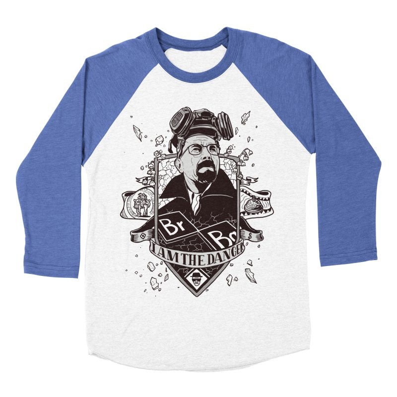 I am the Danger Men's Baseball Triblend T-Shirt by Stefan Grosse Halbuer
