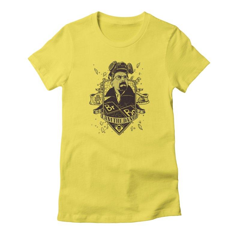 I am the Danger Women's T-Shirt by Stefan Grosse Halbuer