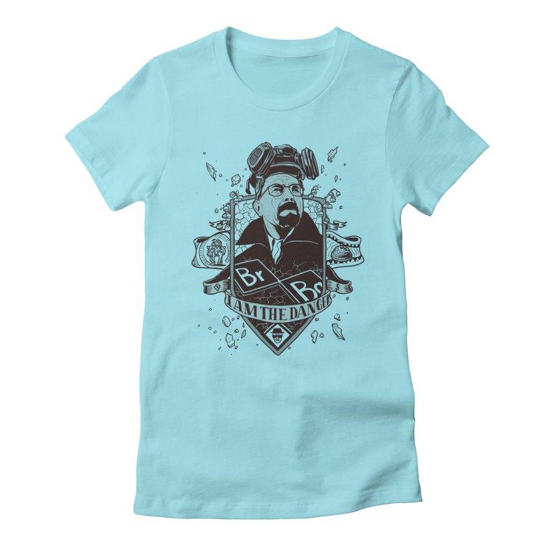 I am the Danger Women's Fitted T-Shirt by Stefan Grosse Halbuer