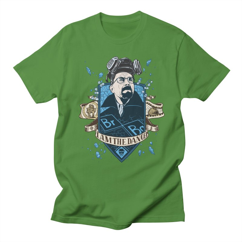 I Am the Danger! – Colored Men's T-Shirt by Stefan Grosse Halbuer